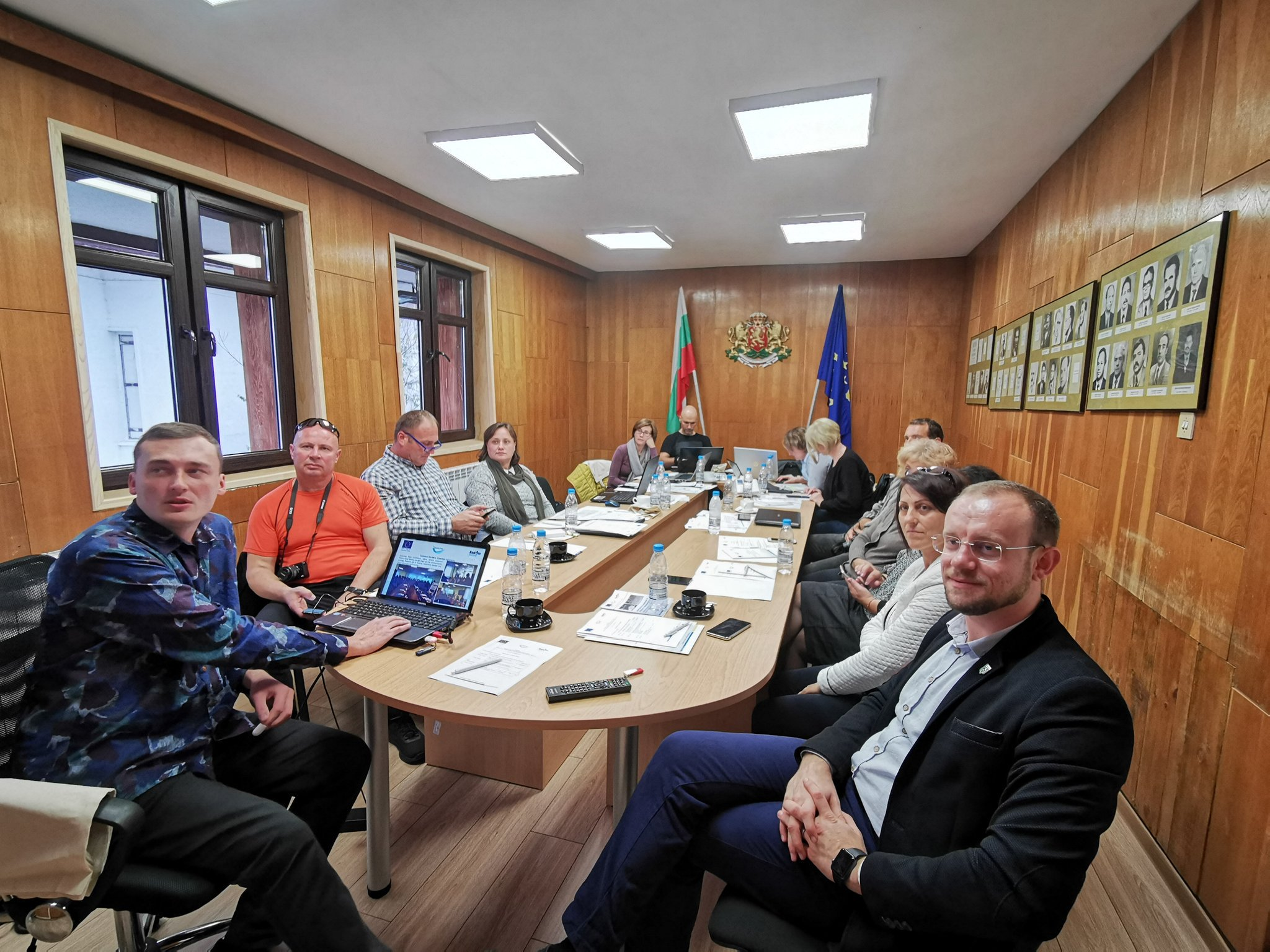 Project staff meeting was held in Malko Tarnovo