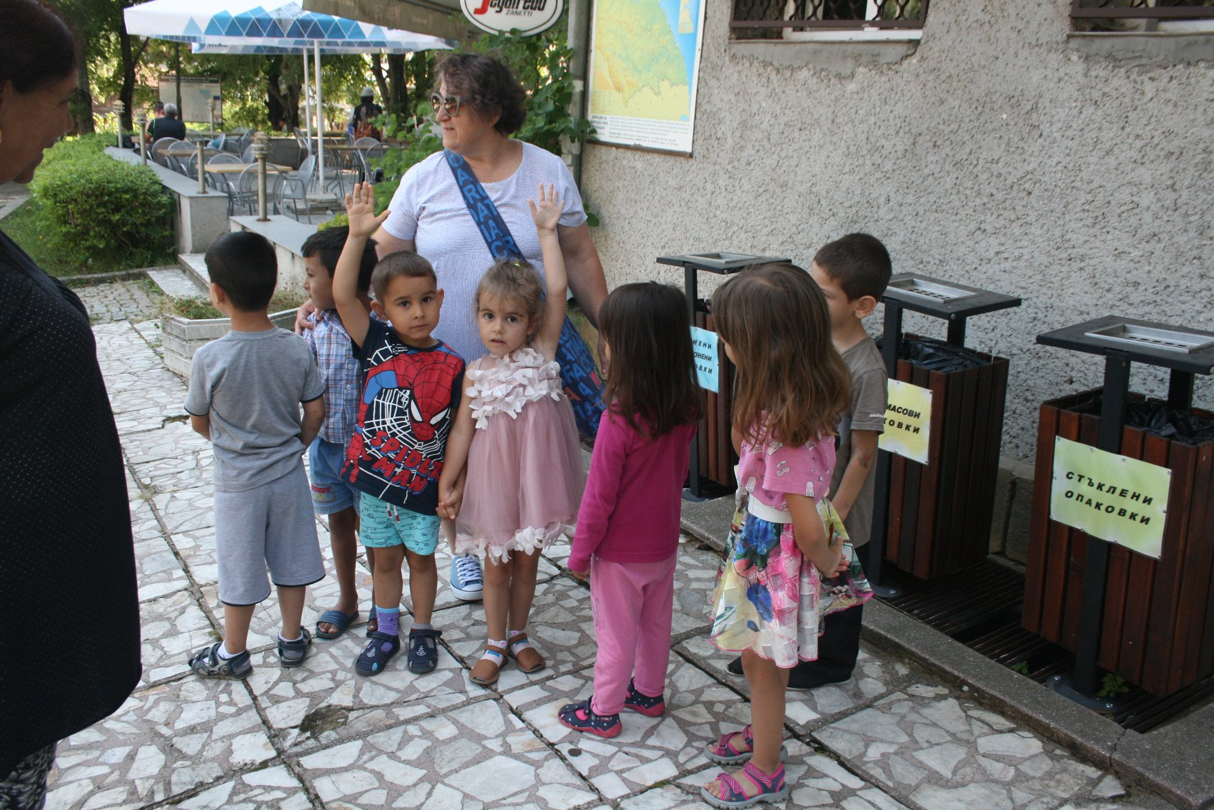 Open lesson on separate waste collection in Malko Tarnovo